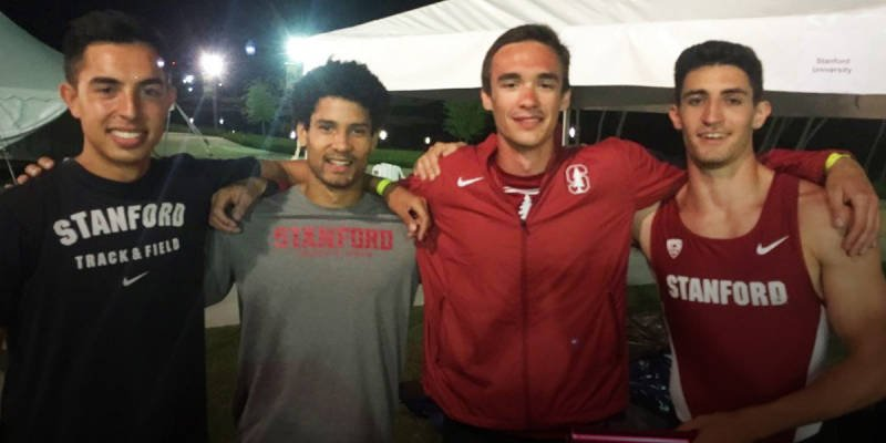 Alumni News: Longtime Stanford Relay Record Smashed